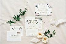 salt + paperie / Custom Wedding Invitations, Stationery, Handlettering & Koozie Designs