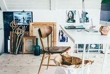 Bureau - Office / Des idées pour aménager son bureau ! #Bureau #Office #Intérieur #Home #Décoration #Aménagement #Design