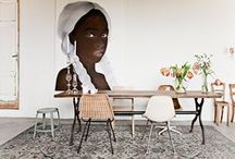 Salle à manger -  Dining room / Des salles à manger design pour trouver un peu d'inspiration ! #Salleàmanger #Diningroom #Tables #Chaises #Interieur #Design #Idea #Idées #Décoration #Home