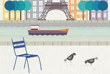 Paris illustrated / Let's draw Paris