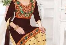 Stunning Patiala Salwar ! / Mesmerising collection of Patiala Salwar - http://bit.ly/1rVzES1