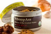 WhoopAss / Open a can of WhoopAss to add satisfying heat with an abundance of flavor.  We have combined chilis known for flavor as well as heat with spices to create a great dry rub, or blend it with vinegar as a wet rub.  Add WhoopAss to sauces, soups and stews where you want a boost.