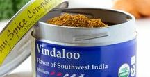 Vindaloo / Vindaloo is the Goan people's Southwest Indian interpretation of a traditional Portuguese wine and meat dish.  The heat of our Vindaloo is brief and pleasant without burning, followed by spice, salt and sweet.  Combine with wine, coconut milk, broth or water and a bit of vinegar in making a traditional vindaloo curry.  We also use it as a dry rub on grilled and pan fried meats and tofu, and mixed in to ground meats.