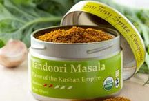 Tandoori Masala / A traditional spice mixture of North India, Pakistan and Afghanistan, Tandoori Masala is typically combined with yoghurt and used as a marinade with chicken, fish or other meat. We also use it as a dry rub or as a flavoring for a simple curry dish with coconut milk. Unlike most Tandoori Masala blends, ours has no artificial color.