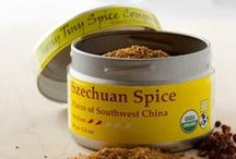 Szechuan Spice / Szechuan Spice combines the tingle of Szechuan pepper with chili heat and the aromatics of ginger, cinnamon, star anise and cardamom to create an exotic and fiery blend.  By itself, or combined with wine, vinegar, soy sauce, citrus juice, fish sauce, or even a spot of honey, Szechuan Spice will add dimension to your meats, veggies, stir fries and soups.