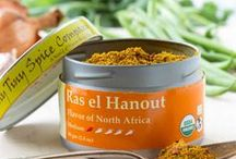 Ras el Hanout / Ras el Hanout brings the flavors of the ancient spice routes into your kitchen.  This spice mix is a true meeting of East and West with a brilliant combination of floral and spice tones with just a hint of heat.  We love to add it to slow cooked stews and legumes, rice or couscous.