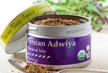 Persian Adwiya / Adwiya possesses a delicate flavor with a delightful floral undertone.  It shines when added to mild dishes such as chicken, rice, couscous, and legumes, yet it is able to handle the demands of bolder cooking such as slowly grilled ribs.  A combination of flavors that is unique to Iranian cooking, Adwiya will become a favorite spice when you want something a little different.