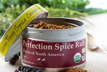 Perfection Spice Rub / Perfection Spice Rub was the inspiration for our business.  Friends kept telling us that it was the best rub that they had ever had, so we decided to make it available to everyone.  Inspired by Southwestern dry rubs and our own Northern woods, Perfection Spice Rub blends an unusual combination of ingredients into a harmonious and balanced blend.