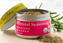 Montréal Seasoning / Montréal Seasoning is our south-of-the-northern-border take on the classic steak rub of the French-Canadian capital.  Black and white peppercorns are ground with herbs and salts to create a blend that can tolerate high heat cooking of a hot grill or pan.  It is perfect for use as a finishing spice or condiment at the table.  Added to soups, stews and sauces, it brings a full and warming flavor that creates a sense of balance and body.