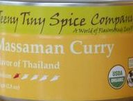 Massaman Curry / Thought to be a melding of Thai, Persian and Indian cuisines, Massaman Curry combines flavors from across Asia.  Slightly hot and slightly sweet, a traditional Massaman Curry of spice, coconut milk, chicken, fish sauce and some tamarind paste or citrus juice makes a quick and delicious dish.