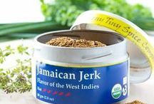 Jamaican Jerk / Jerk is used to describe both the traditional seasoning as well as the open-fire cooking technique of this favorite Caribbean flavor. In addition to being used to add heat and richness to any dish Jamaican Jerk can be used as a dry rub or combined with a bit of oil or citrus juice to create a wet marinade for an exotic grilling experience.  As with all of our blends, we use Jamaican Jerk in our cooking from soups to nuts.