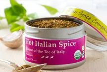 Hot Italian Spice / Our Hot Italian Spice blend represents a fusion of Italian flavors. Based upon recipes of Calabria and Sicily, the crossroads of ancient commerce and cuisine of the Mediterranean, Hot Italian Spice offers a rich herbal flavor with moderate chili heat that elevates the flavors of savory dishes. Use with pastas, on pizzas, with roasted vegetables, in burgers or wherever else you are inspired.