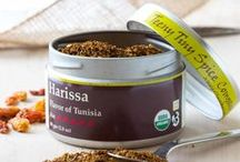 Harissa / Harissa is the staple fiery condiment of Tunisia. A combination of hot peppers, spices and herbs, it is used as a rub, a general spice to add to any dish, and as a spread like mustard. We have created a dry Harissa, making it convenient to create a little or a lot as you need it, and allowing it to be used as either a dry ingredient or made into a paste with a bit of oil or hot water.