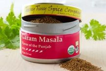 Garam Masala / There are many different versions of Garam Masala.  Ours is a potent blend of aromatic spices giving you the flavor of Northwestern India.  Our Garam Masala is an amazingly versitile spice blend that we use in both savory and sweet cooking.  Add it to a savory dish near the end of the cooking, such as a pinch dusted over pan seared scallops.  Two teaspoons added to your favorite pumpkin, banana or spice bread recipe will provide you with a familiar yet enhanced flavor experience.