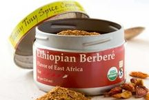 Ethiopian Berberé / Ethiopian Berberé is a hot and flavorful mix of more than a dozen ingredients.  It can be used as a dry or wet rub on roasted meats or tofu.  Add it to stews and sauces for a bold and full flavor profile.  Subtle flavored dishes such as beans, lentils and potatoes will be transformed into a true delight.  This is a hot spice which can be used judiciously or with recklessness depending on your mood.