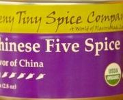 Chinese Five Spice / Chinese Five Spice incorporates all five of the traditional Asian taste elements (sweet, sour, bitter, pungent and salty) in a single blend.  Use it as a dry rub, an integral seasoning in a dish, and even as a finishing spice sprinkled on at serving.  The flavor profile is meant to provide a mild undertone to enhance the native flavor of the elements of a dish.