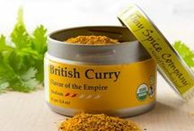British Curry / A proper 19th Century British curry had both curry powder and curry paste as ingredients.  We have combined these elements into a single blend for classic flavor. Use it by itself or combine with a bit of vinegar to add acidity, British Curry can create a traditional saucy dish or be added to any simmered, stewed or grilled meat, tofu or vegetable dish.