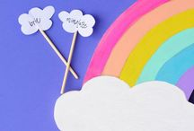 I CAN SEE A RAINBOW / Discover your favourite rainbow crafts and travel inspiration