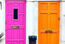 CURB APPEAL / Discover some of the most bright & colourful house exteriors & doors from all around the world.