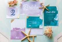 UNDER THE SEA / Discover our favourite mermaid themed wedding ideas perfect for that beach or seaside wedding.