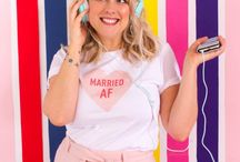 WIFEY FOR LIFEY / Congratulations your a bride to be! So wear it loud and proud with these statement fashion finds. From swimwear and  T-shirts to pyjamas and eye masks, this board has it all!