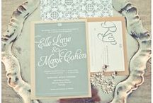 .paper. / Beautiful inspirational paper goods for weddings and events. Invitations, programs, escort cards  / by Hillary Yeager