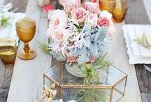 .Tabletops. / Beautifully dressed and inspirational tables  / by Hillary Yeager