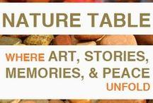 Seasonal Nature Tables / by The Blasphemous Homemaker