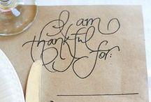 thanksgiving....gobble gobble. / by B E C K Y . L E W I S