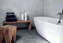 bathroom ideas. / by B E C K Y . L E W I S