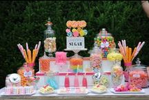 Candy tables & displays