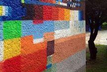 Abstract Street Art / Non-representational graffiti art