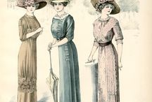 20th century - fashion / by Edith Chartier