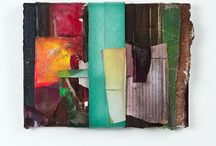 Abstract Art - Collage / I met a friendly collage artist recently so am pinning some abstract collage art for ideas