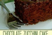 Zucchini / Sweet and savory Zucchini recipes!