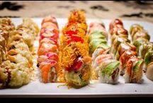 sushi. / by B E C K Y . L E W I S