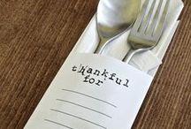 table settings. / by B E C K Y . L E W I S