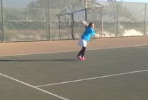 Aubry the Superstar! Tennis is her game! / Tennis / by Rita Hagen