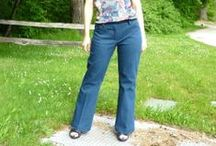 Scaredy Pants 2014 / Pants/Trouser patterns and fitting tutorials. Overcome your fear of sewing pants in 2014! / by Jodi Bonjour  (Sew Fearless)