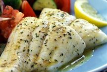 Seafood Recipes / Entree ideas that focus on seafood as the main ingredient. / by Lisa Giamette