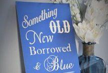Something Blue Bridal Shower Brunch / by Brittany Spencer