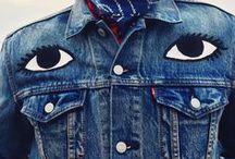 DENIM / Denim, raw denim, indigo, selvedge-  jeans inspiration