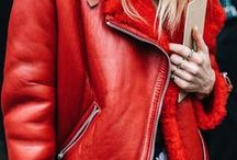RED / Red outfit & clothes inspiration