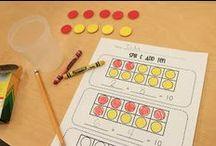 Classroom Activities- Math / by Miss Kindergarten