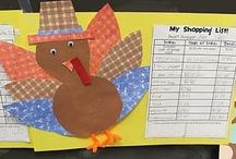 Fall Ideas/Activities / by Miss Kindergarten