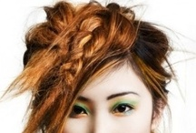 Curl Up And Dye. / Hot hairstyles and cool coifs.