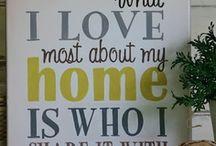 Home sweet Home / by Elizabeth Adams