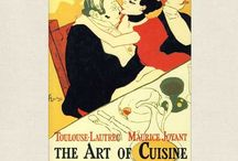 Cookbook as Art / Beautiful and inspiring cookbooks with cover design and artwork that could hang in a frame.