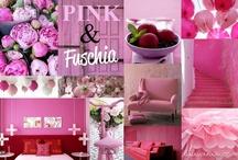 Pink & Fuschia   / by Purodeco Feng Shui Interior Design