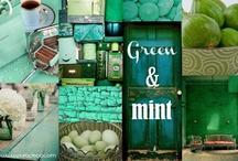 Green & Mint / by Purodeco Feng Shui Interior Design